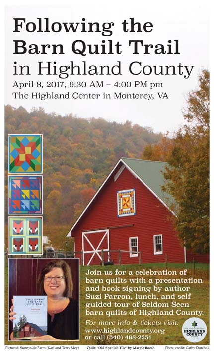 Barn Quilt Trail next month! I'm going!