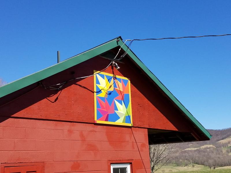 Margie's Highland Barn Quilt studio
