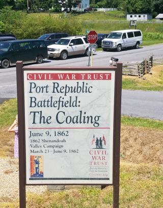 Port Republic Battlefield: the Coaling