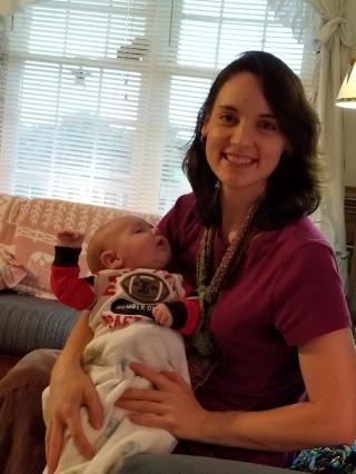 Matthew with Aunt Hannah