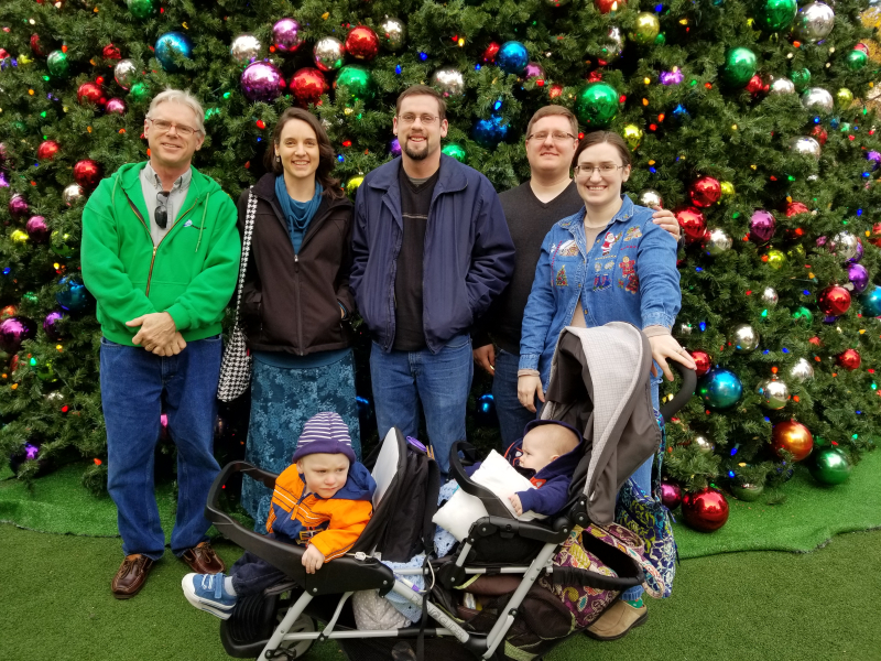 our family at ChristKindl Market