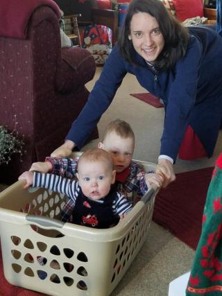 Fun with Aunt Hannah