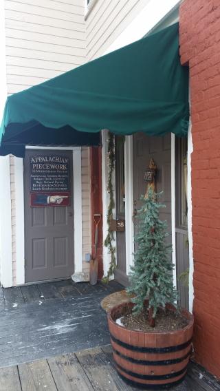 Appalachian Piecework entrance