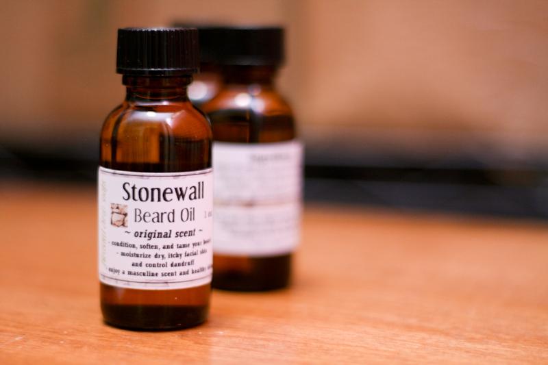 Pleasant View Soaps Stonewall Beard Oil