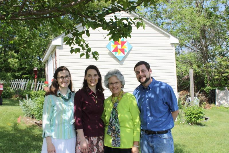 Sarah, Hannah, Deb, and Jonathan