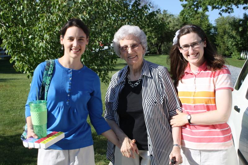 Granny arrives back in VA ~ May 19, 2015