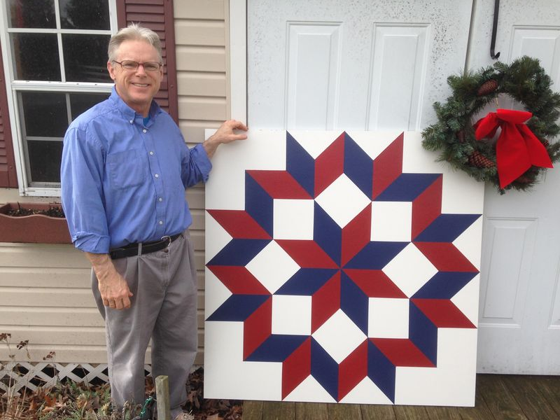Tom and quilt