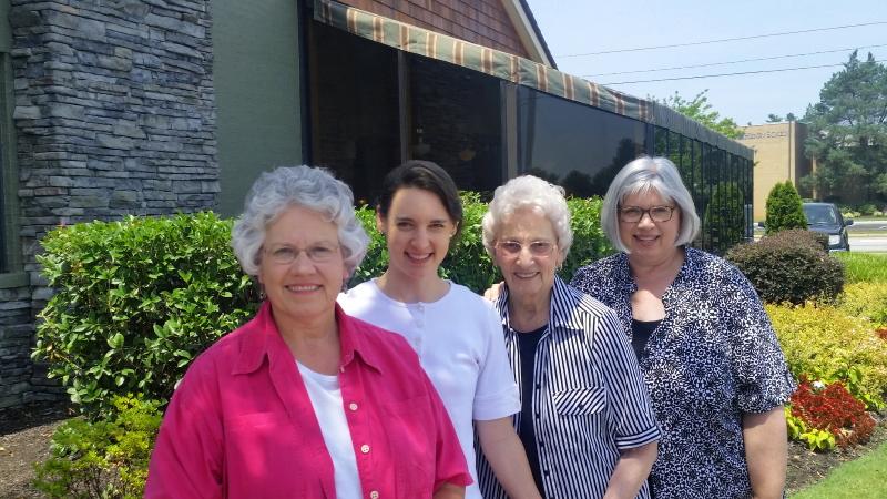 Deb, Hannah, Granny, Aunt Bet ~ July 24, 2016