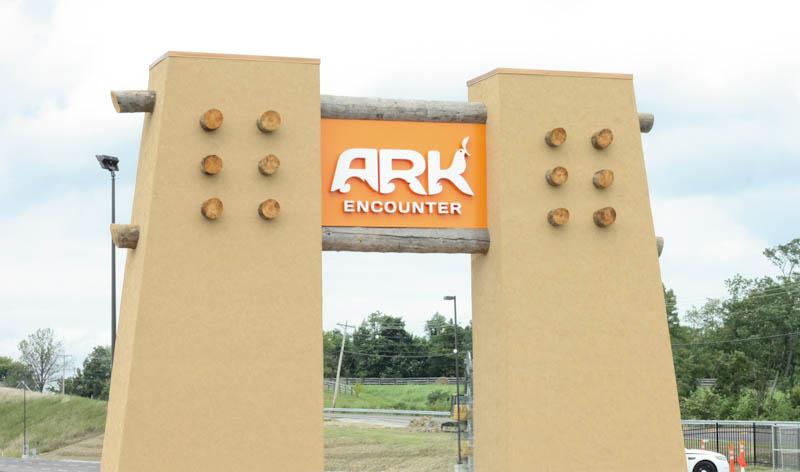 entrance to the ark encounter