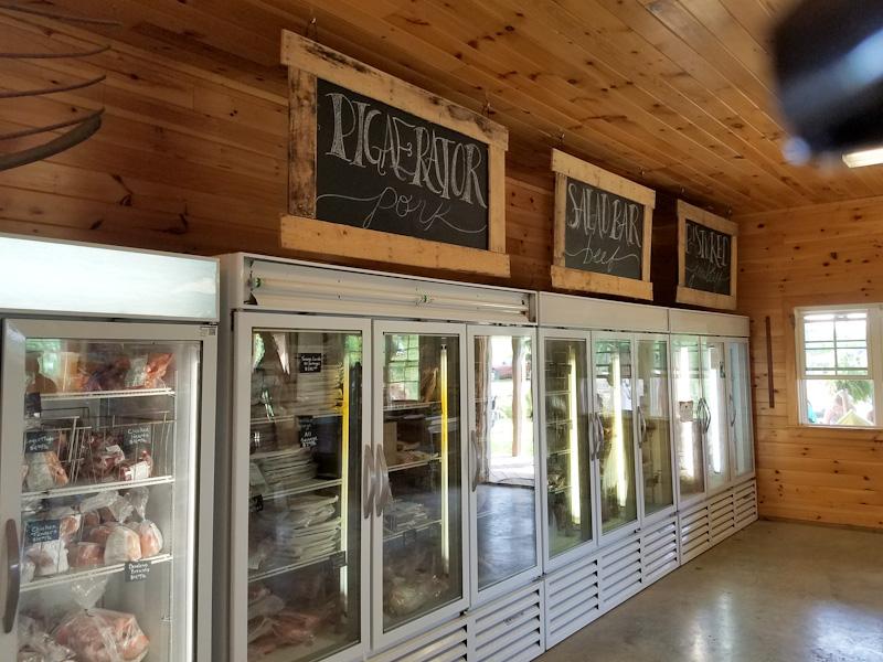Polyface farm store