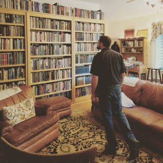 house full of books