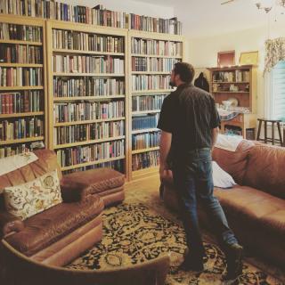 house full of books