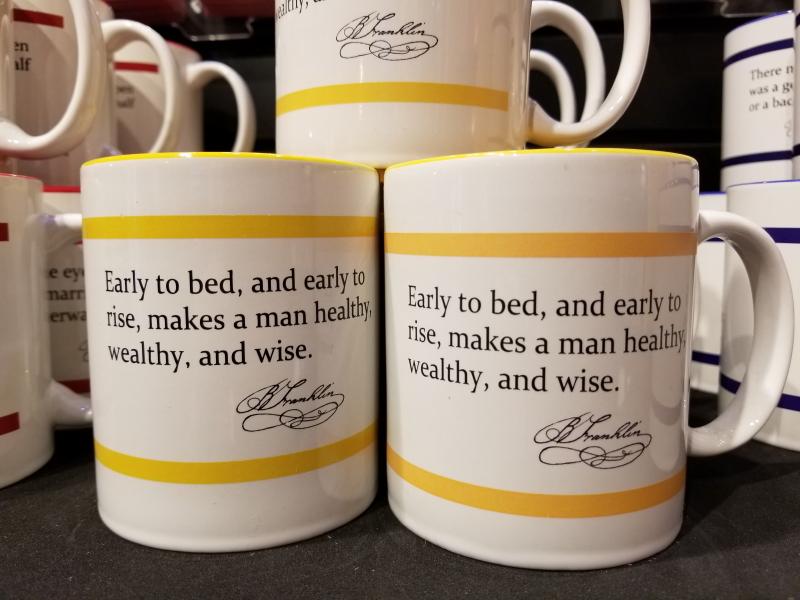 Ben Franklin said this