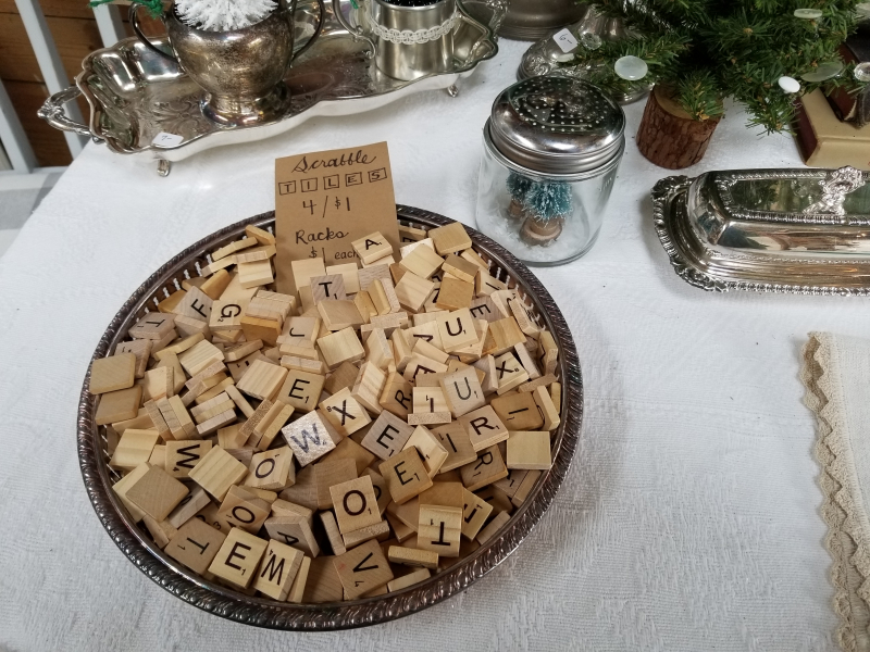 Scrabble letters possibilities!