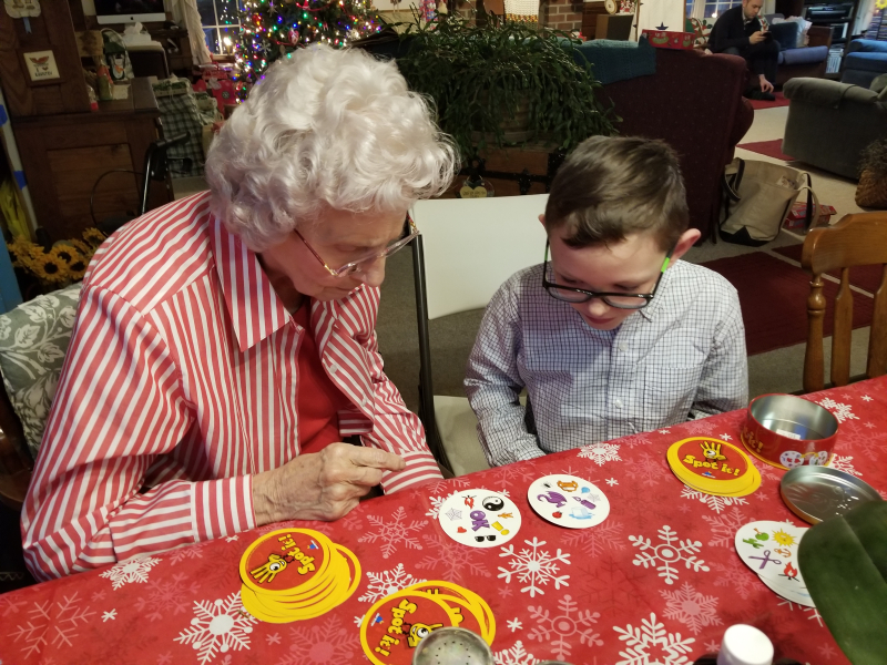 Great Granny and Ethan