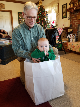 Grampa and Matthew