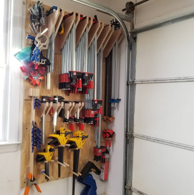 Pic clamp rack