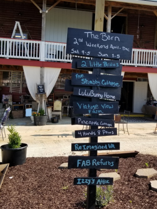 Vendors listed at The Barn
