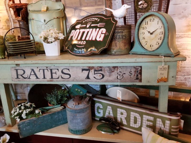 Potting Shed and Garden signs