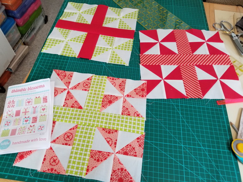 blocks for Handmade with Love quilt