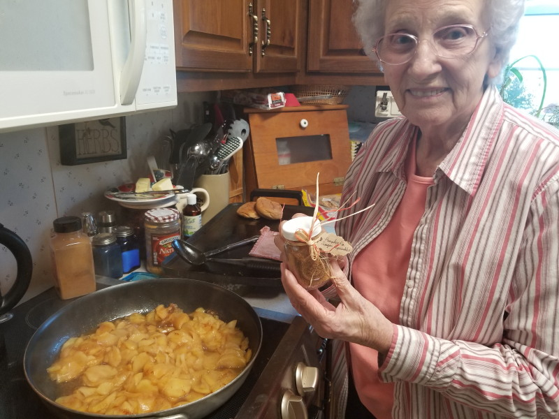 Granny in the kitchen ~ Summer 2018