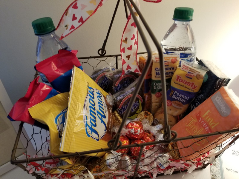 basket of necessities
