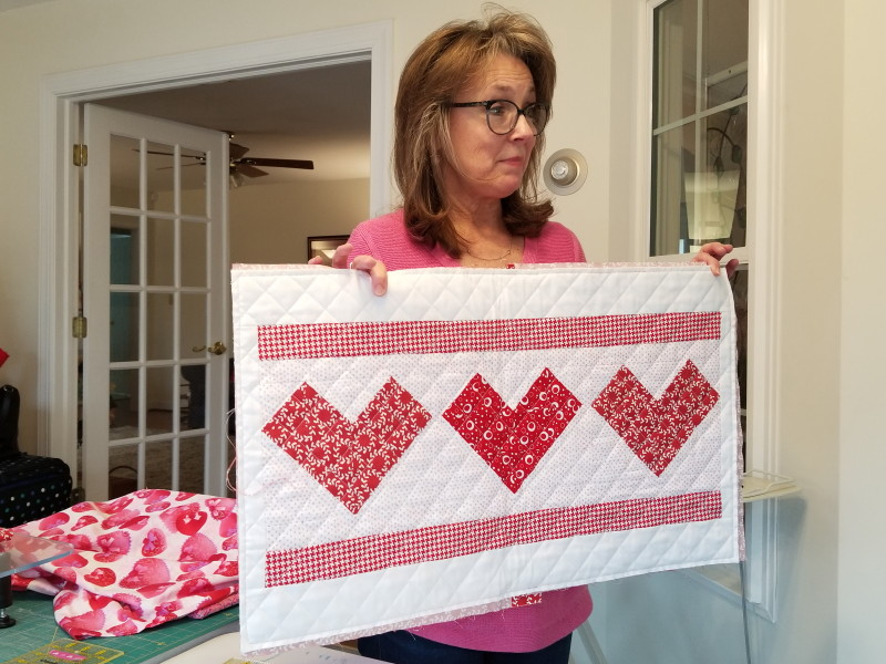 Heart Pillow project via Chesea Stratton's blog