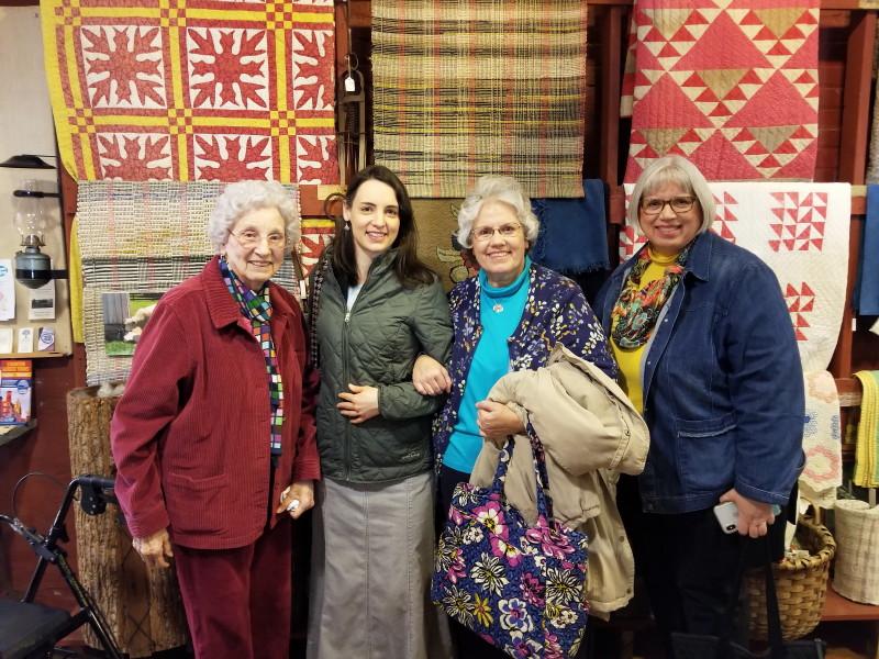 Granny, Hannah, Deb, and sister Bet