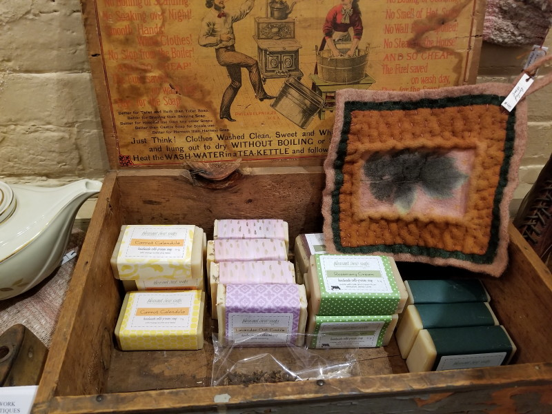 Pleasant View Soaps sold here!