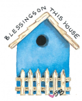 Used with permission:Birdhouse by Susanbranch.com