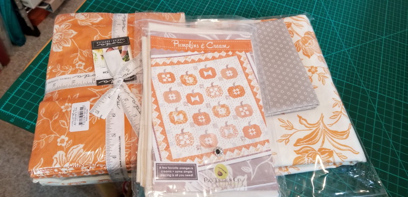 Sew Along ahead! Pumpkins!