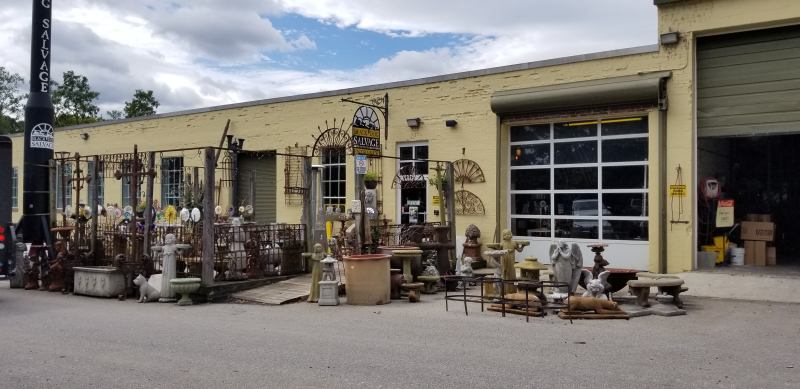 Outside Black Dog Salvage