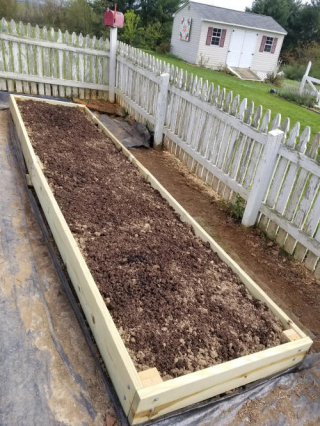 planting in this bed all done!