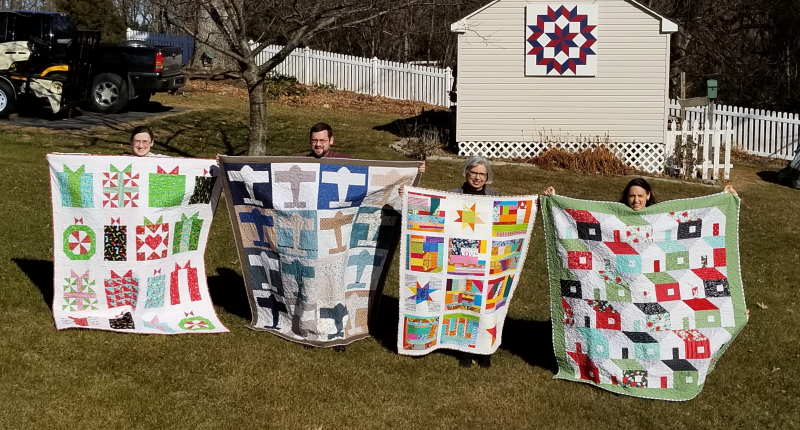 4 quilts! That's a lot of work!