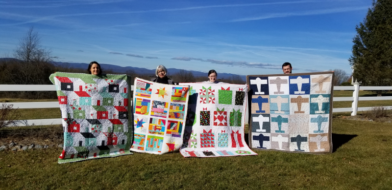 4 quilts for Christmas!