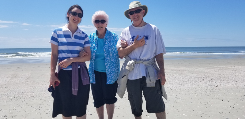 3 on the beach ~ Cherry Grove Beach