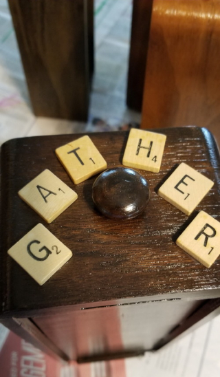 Hannah's drawer ~ GATHER