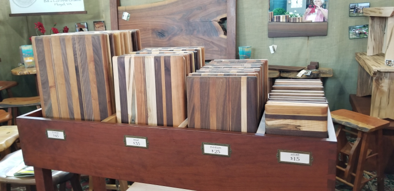 selection of cutting boards