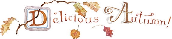 Delicious autumn by SusanBranch.com