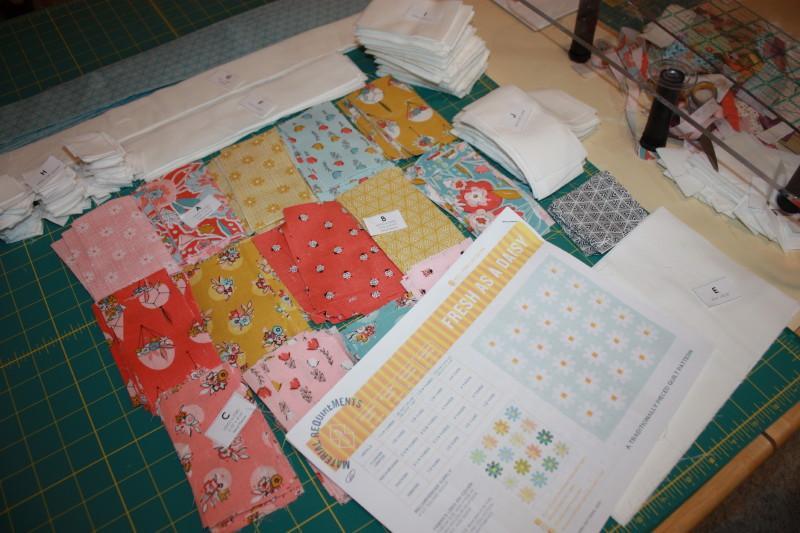 daisy sew along
