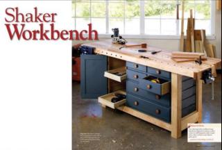 Shaker workbench fineww