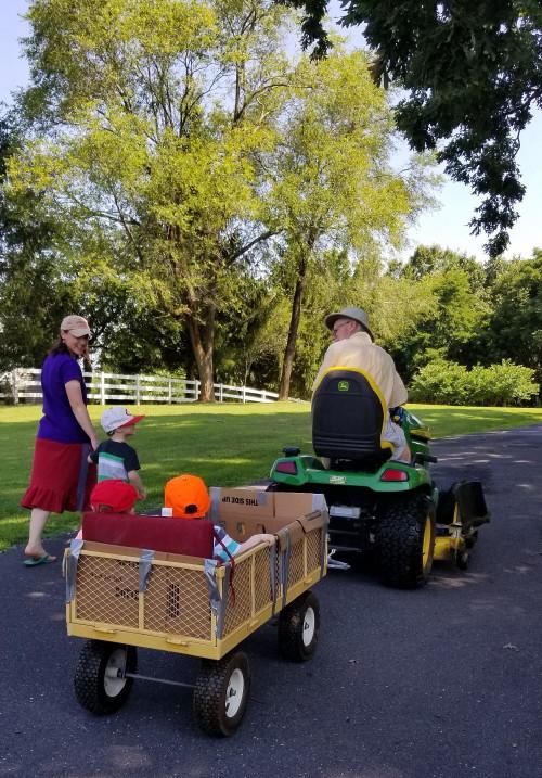Wagon rides!