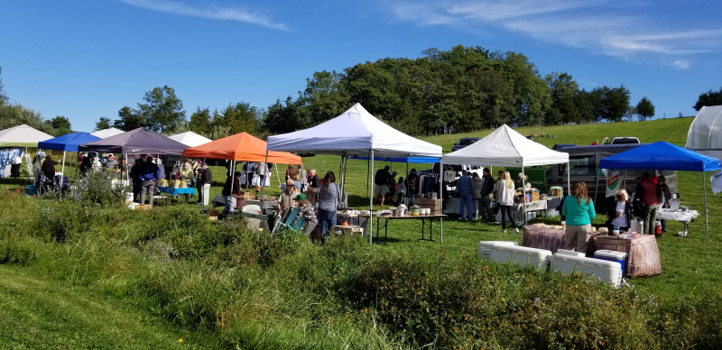 vendors at Season's Yield Farm