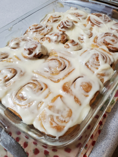 Cinnamon Rolls - Hope's Table