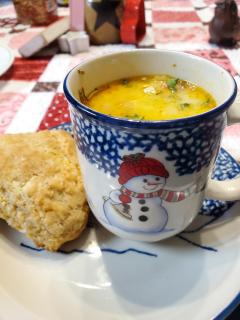 Creamy Chicken Parmesan Pasta Soup