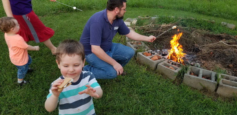 fire and marshmallows!