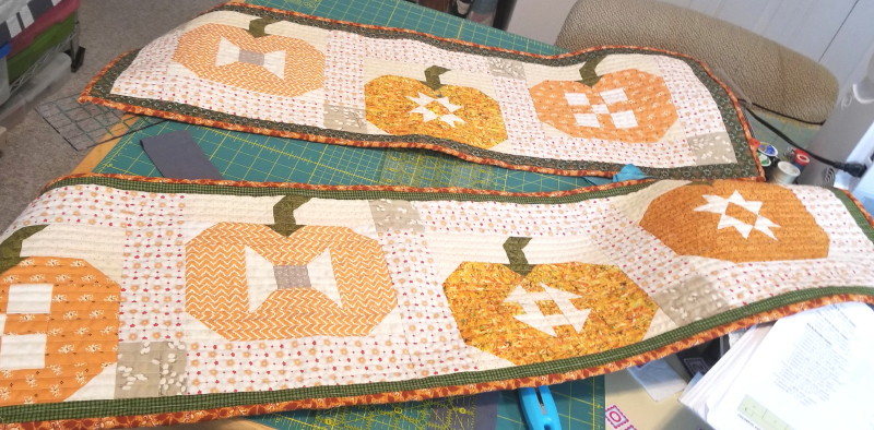 Fig Tree Pumpkin Table Runner