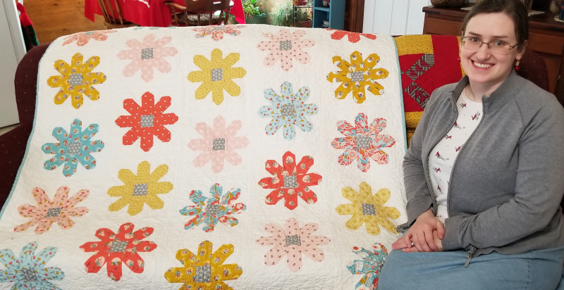 Daisy Quilt for Sarah