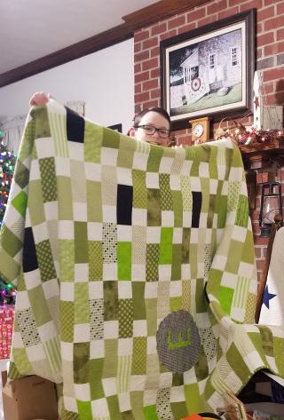 Green quilt!