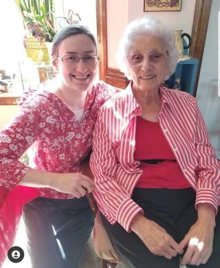 Sarah and Great Granny